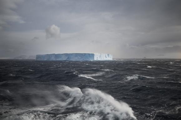 Tabular Iceberg_Antarctica_Lucy Piper